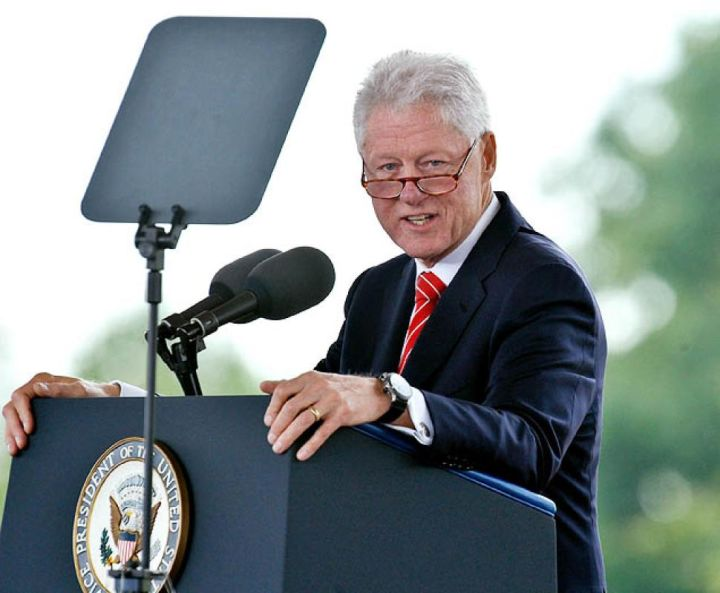 """In 1993, Maya Angelou recited poem """"On the Pulse of Morning"""" at the inauguration of President Clinton. This was the first poet to make inaugural recitation since Robert Frost at J.F. Kennedy's in 1961"""