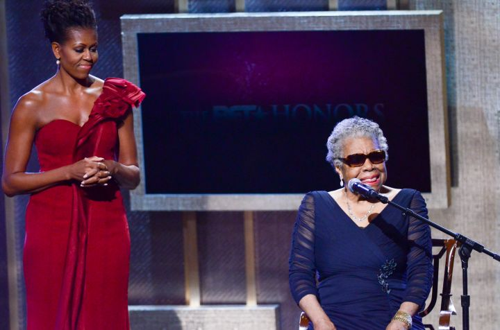 Dr. Maya Angelou served on two presidential committees.