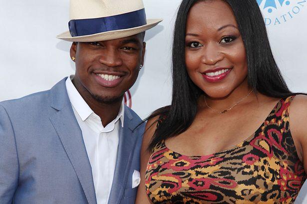 Ne-Yo and fiancee Monyetta Shaw