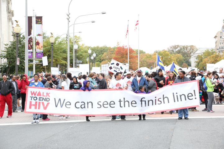 Walk To End HIV