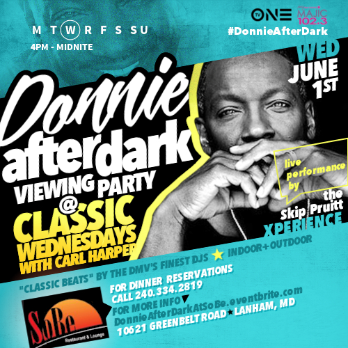Donnie After Dark Viewing Party