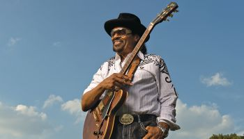The Godfather of Go Go Music, Chuck Brown is photographed for the cover of the Washington Post Sunday Magazine.