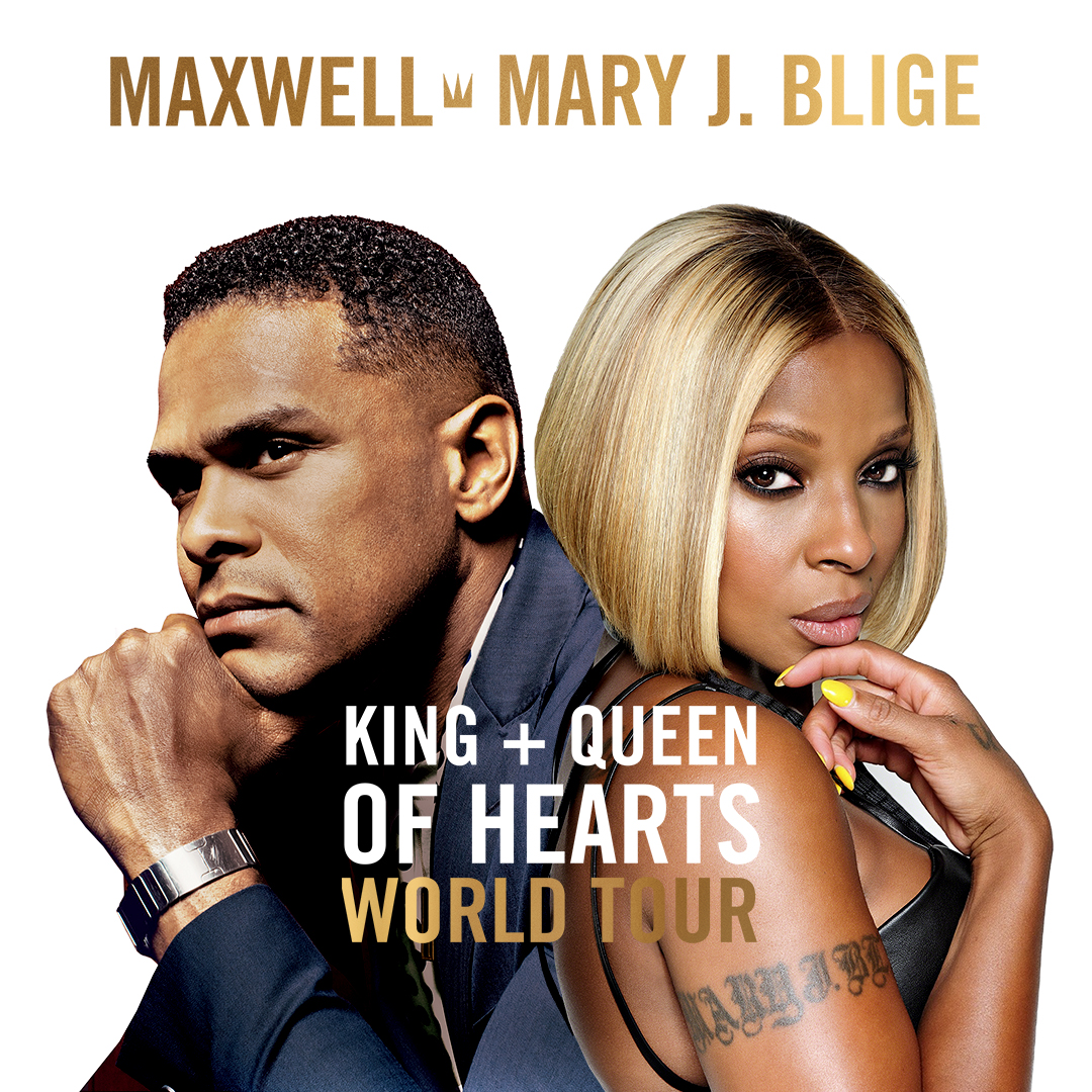 Maxwell and Mary J Blige: King and Queen of Hearts Tour