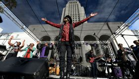City Of Los Angeles Memorial Tribute Of Prince Rogers Nelson