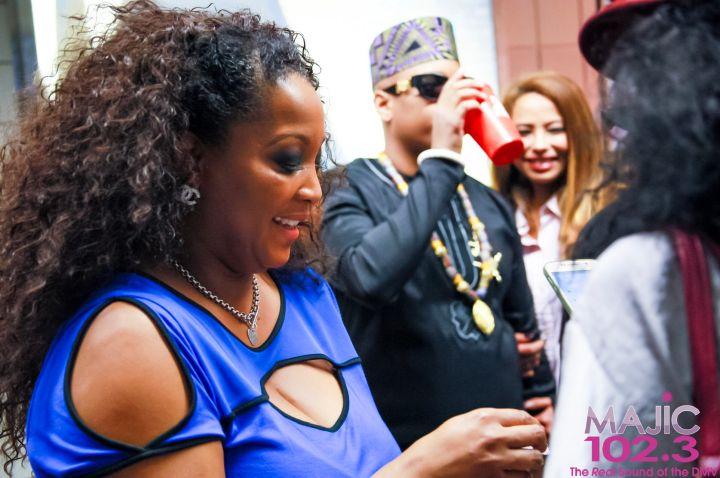 [Photos] Maxwell & Mary J. Blige Meet & Greet