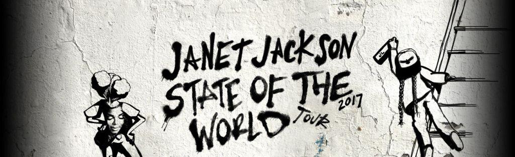 Janet Jackson Flyer - 106.7 WTLC