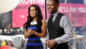 Tracey Edmonds Visits 'Extra'