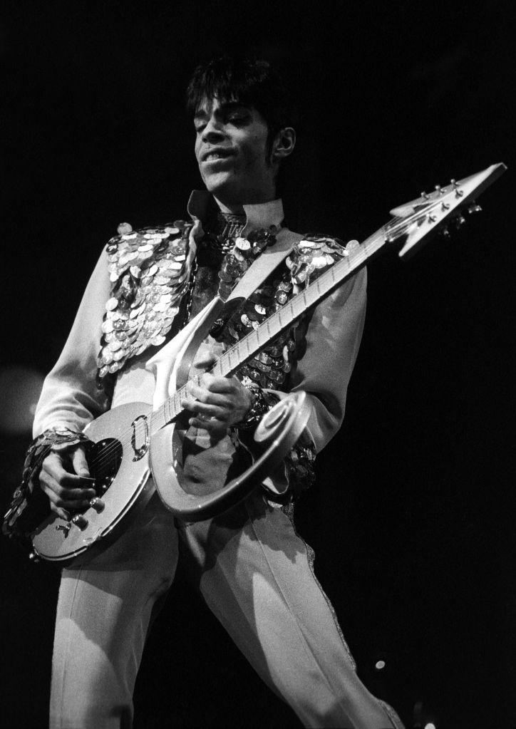 Prince Performs At Wembley