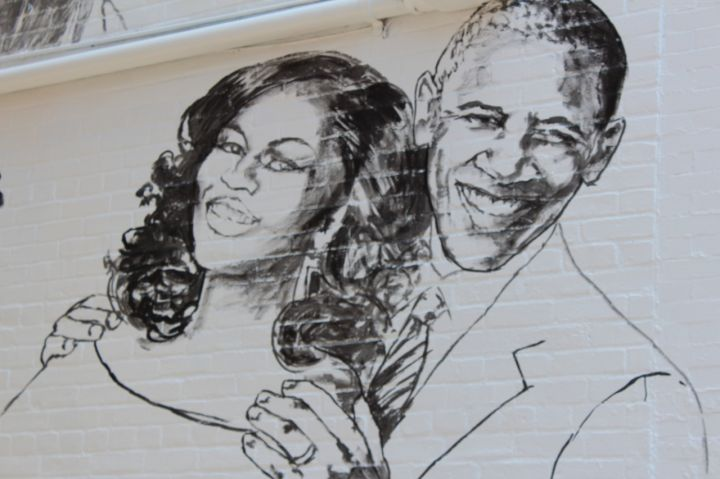 Stars Shine On Ben's Chili Bowl Mural