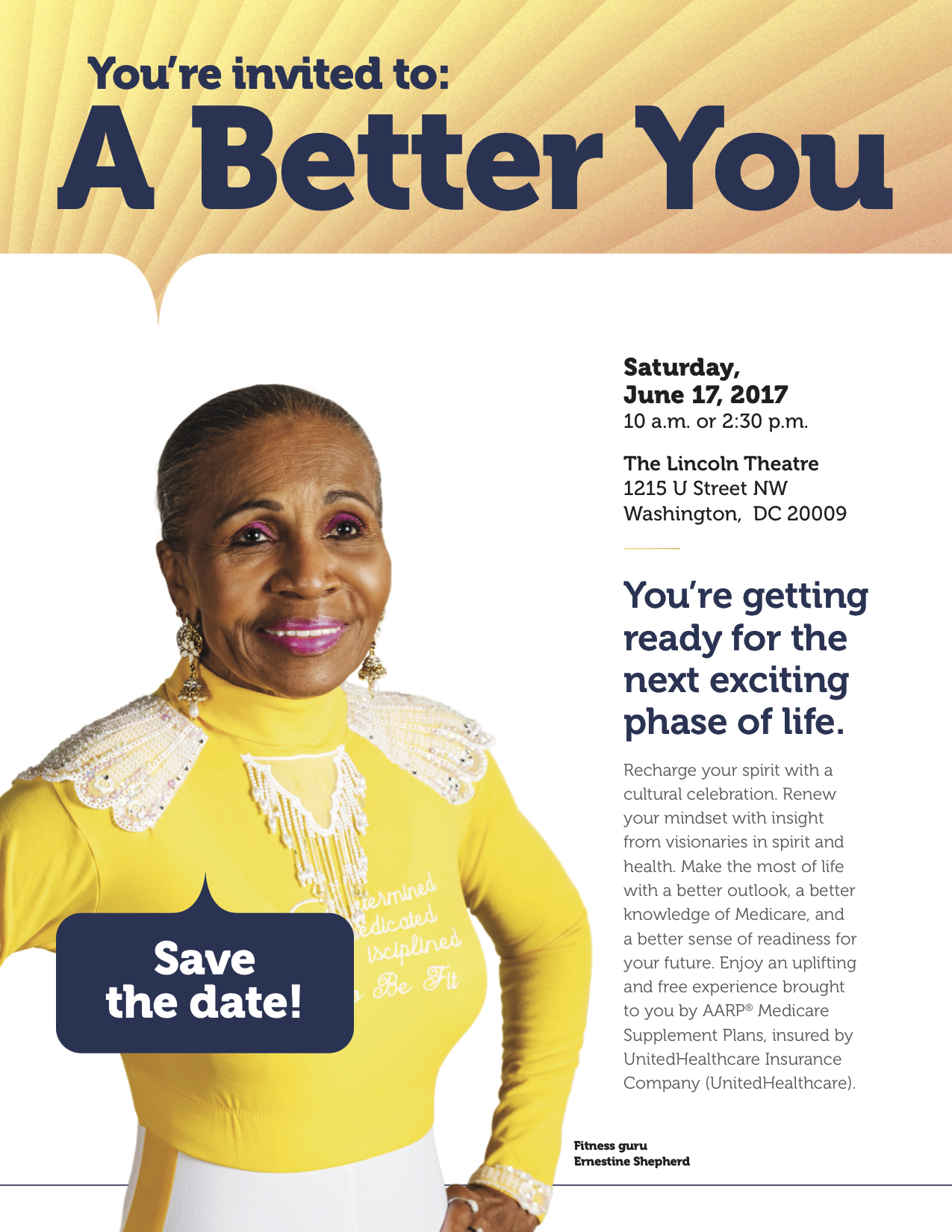 A Better You For Our Seniors Event June 17th