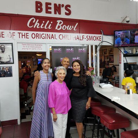 Majic At Ben's Chili Bowl