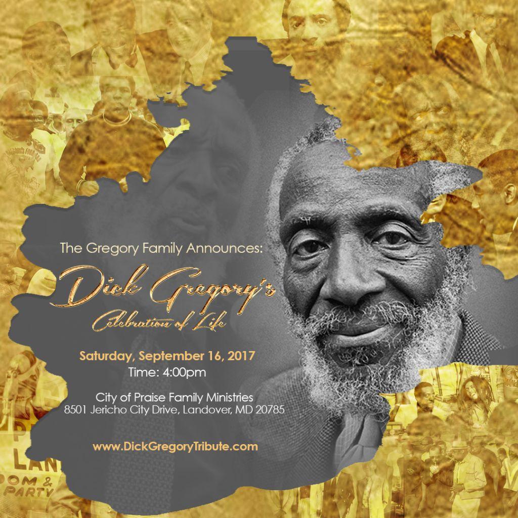 Dick Gregory Memorial Celebration