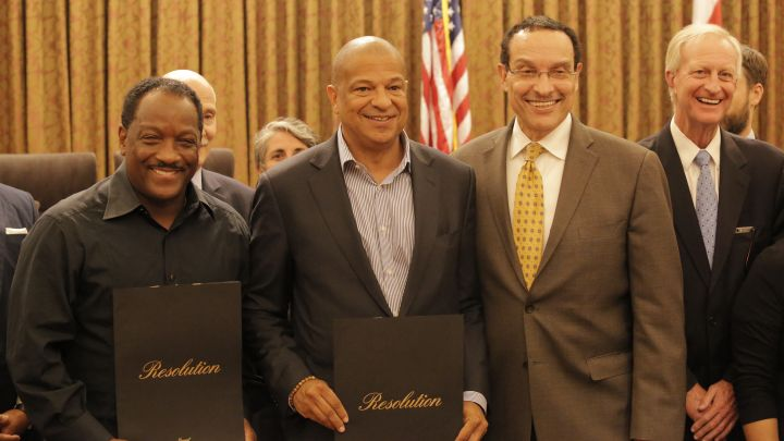 Donnie Simpson & Alfred Liggins Receive DC Resolutions