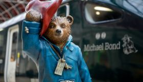Great Western Railway (GWR) names one of the first of it's new Intercity Express Trains after Paddington Bear author Michael Bond in London