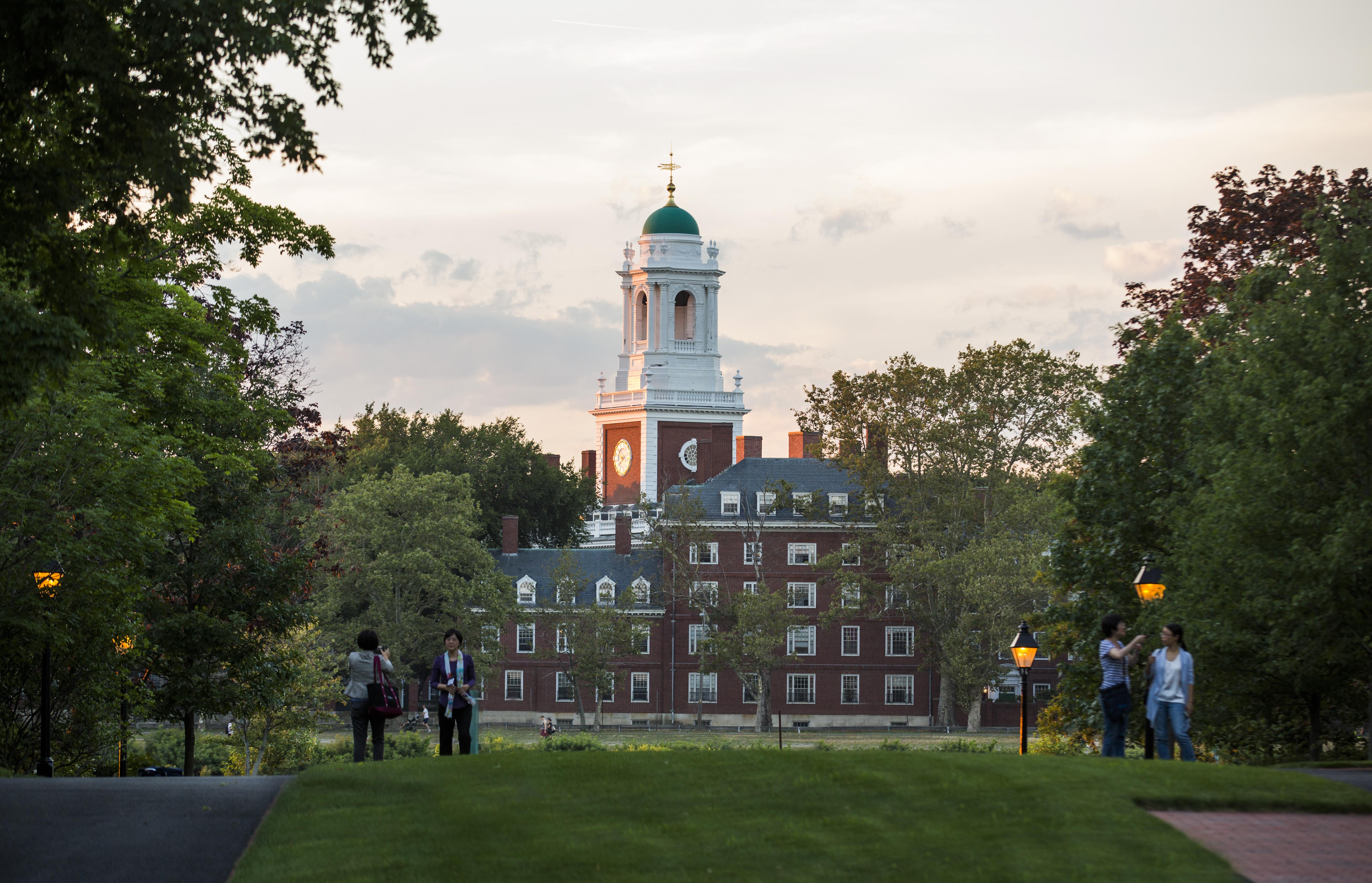 The Campus of Harvard University