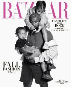 Kanye West Harper's Bazaar cover