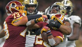 NFL: Washington Redskins vs New Orleans Saints