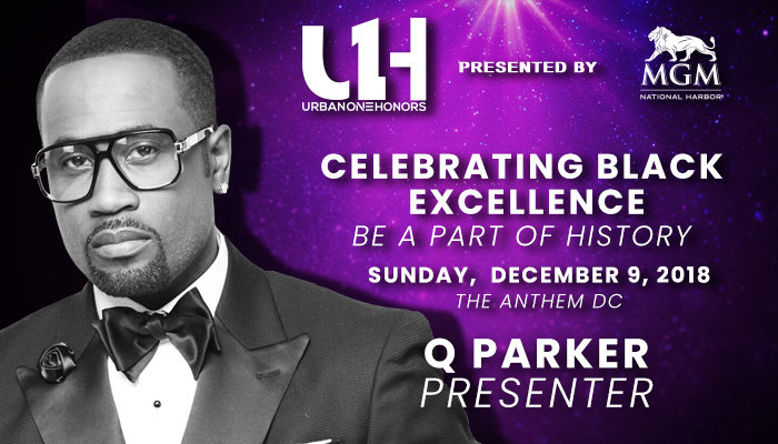 Q Parker Urban One Honors