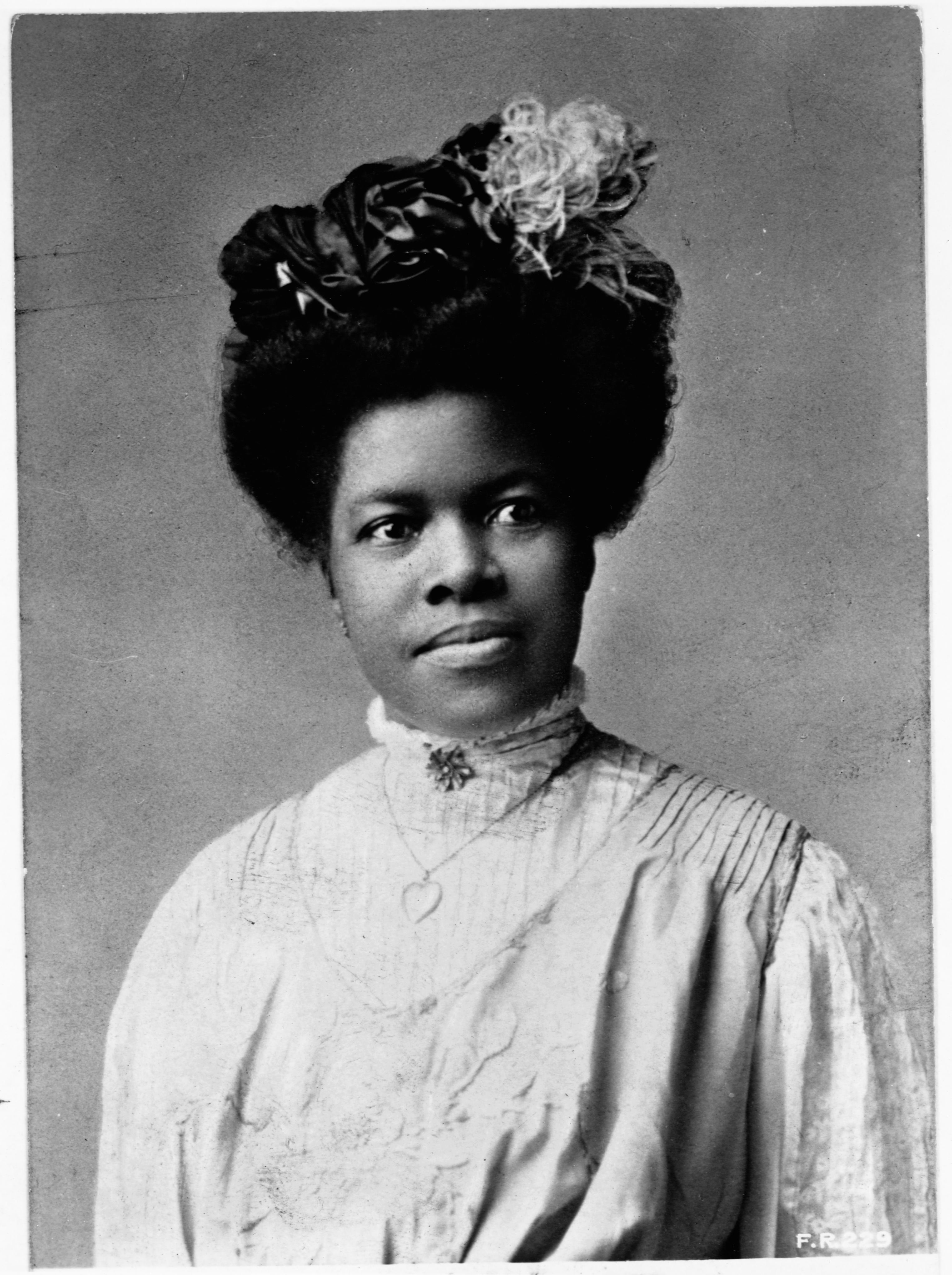 Educator Nannie Helen Burroughs
