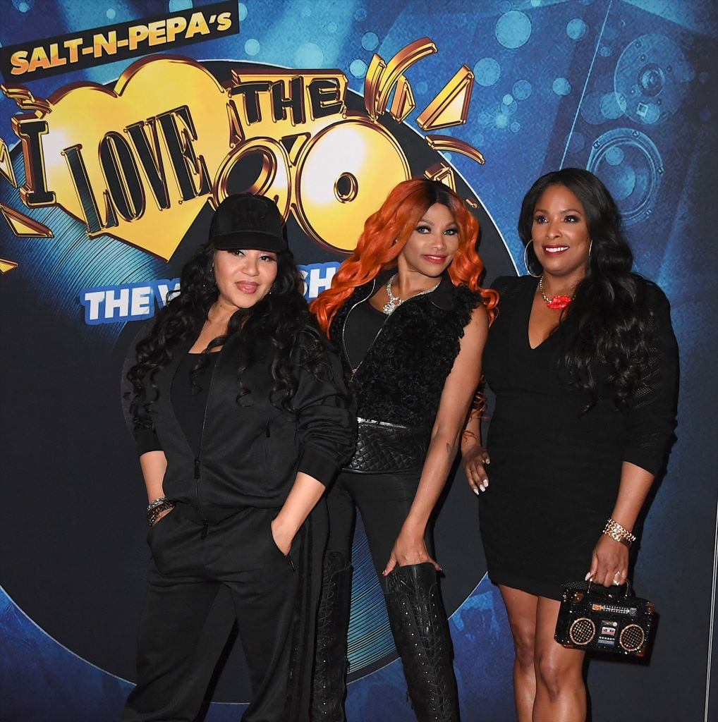"Grand Opening Of ""SALT-N-PEPA'S I LOVE THE '90s - THE VEGAS SHOW"" Residency At Paris Las Vegas"