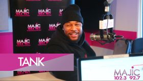 Tank At Majic 102.3 & 92.7