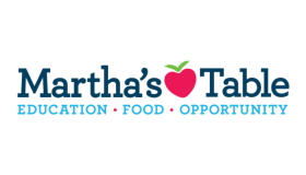 Martha's Table Logo For KYS Block Party