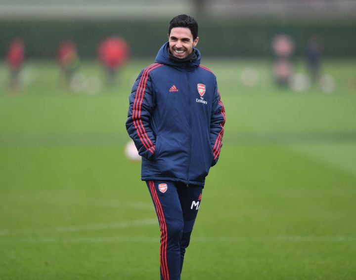 Arsenal's Spanish head coach Mikel Arteta