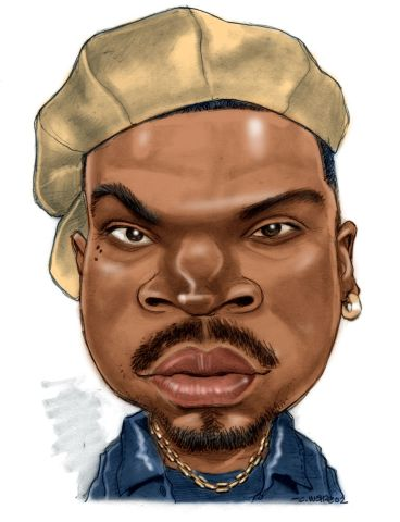 CARICATURE: Ice Cube