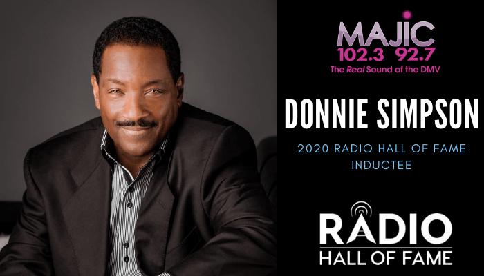 Donnie Simpson Radio Hall of Fame