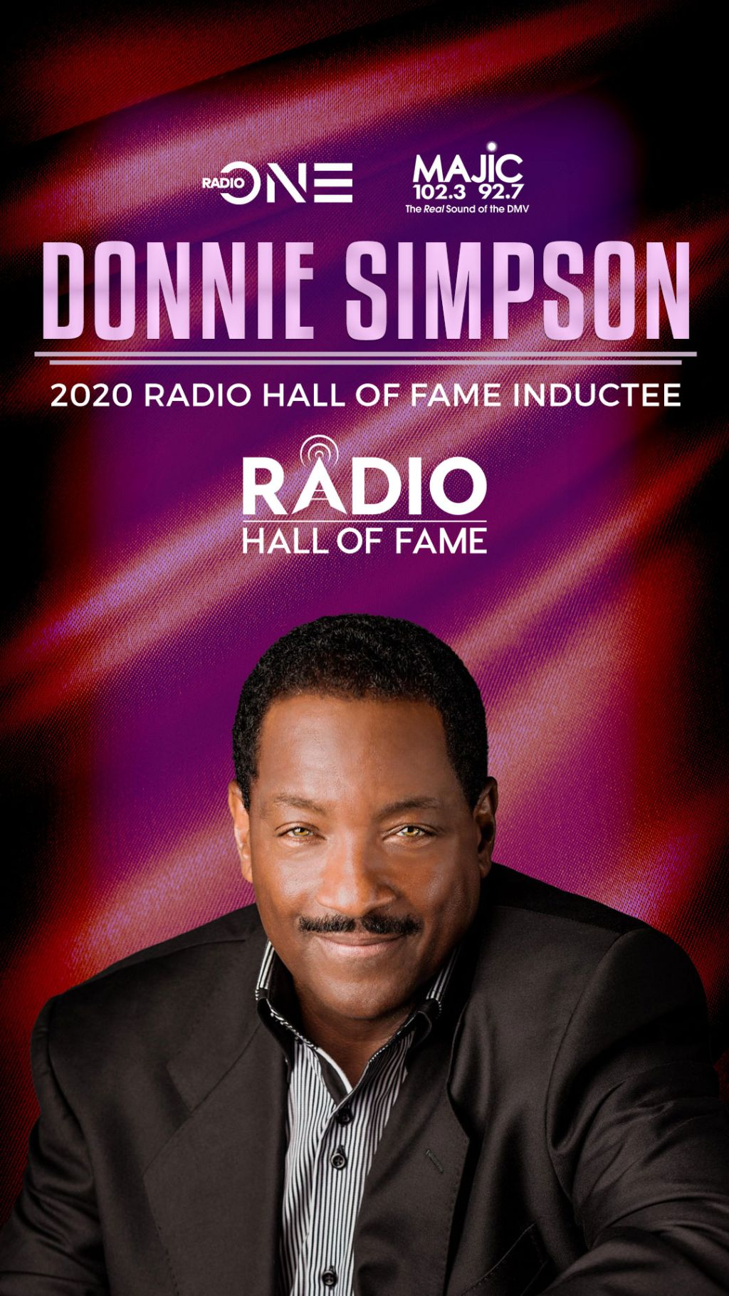 Donnie Simpson Radio Hall of Fame