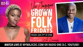 Grown Folk Friday: Vic Jagger x Will Downing