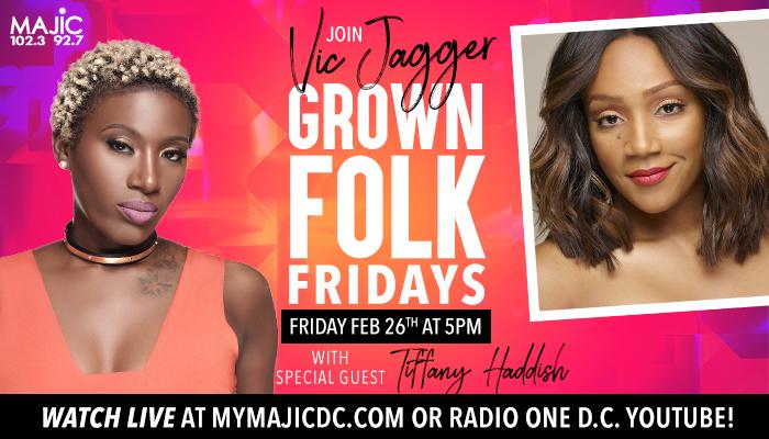 Grown Folk Fridays With Tiffany Haddish