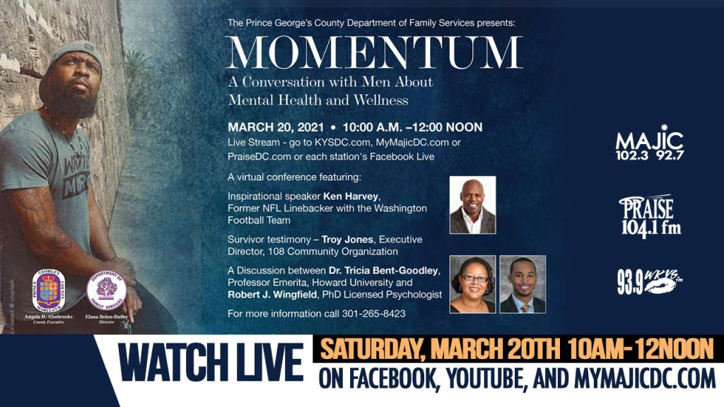 Momentum - A Conversation With Men About Mental Health And Wellness