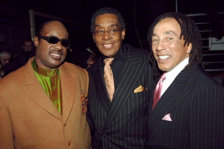 Don Cornelius and Smokey Robinson