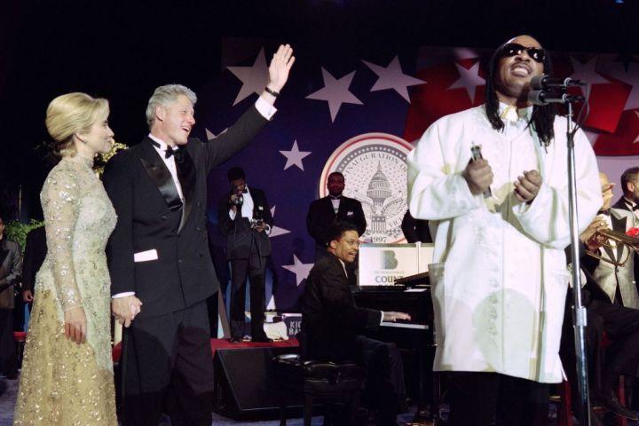 President Bill Clinton and Hillary Clinton