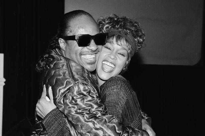 Stevie Wonder and Whitney Houston
