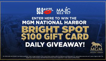 MGM National Harbor Bright Spot Contest