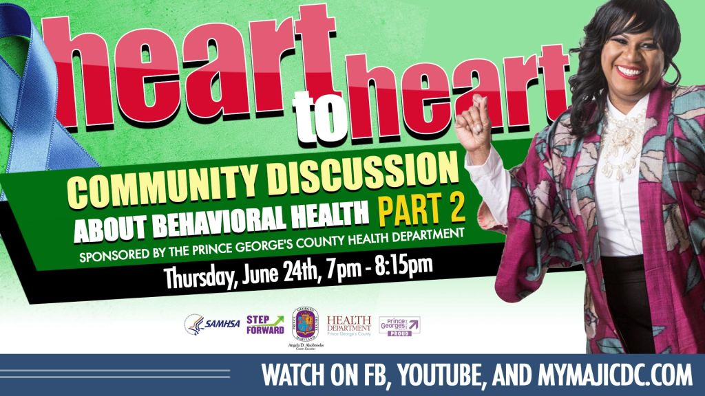 Heart To Heart: Community Discussion About Behavioral Health Part 2