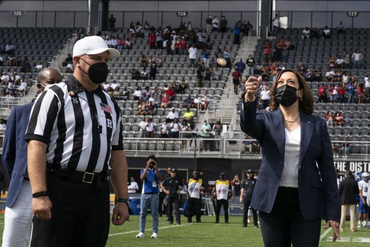 Vice President Harris Attends Howard University Football Game